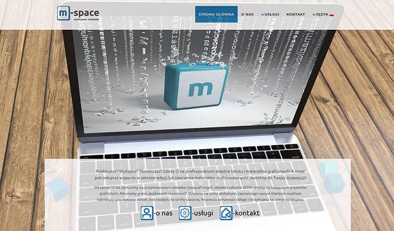 Strona dla m-space.eu